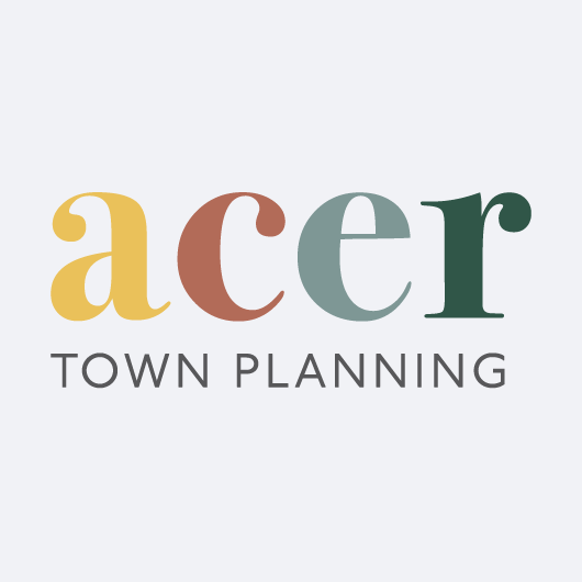Link to Acer Town Planning website design portfolio page